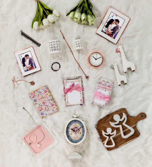 Back Cover Flat Lay