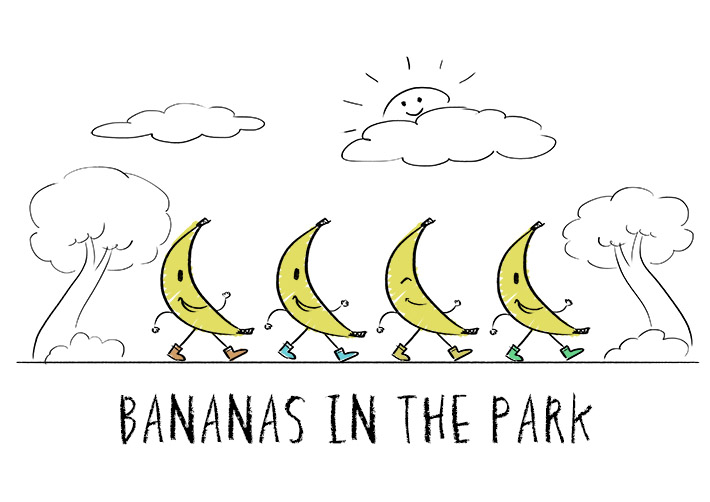 bananas in the park - blog